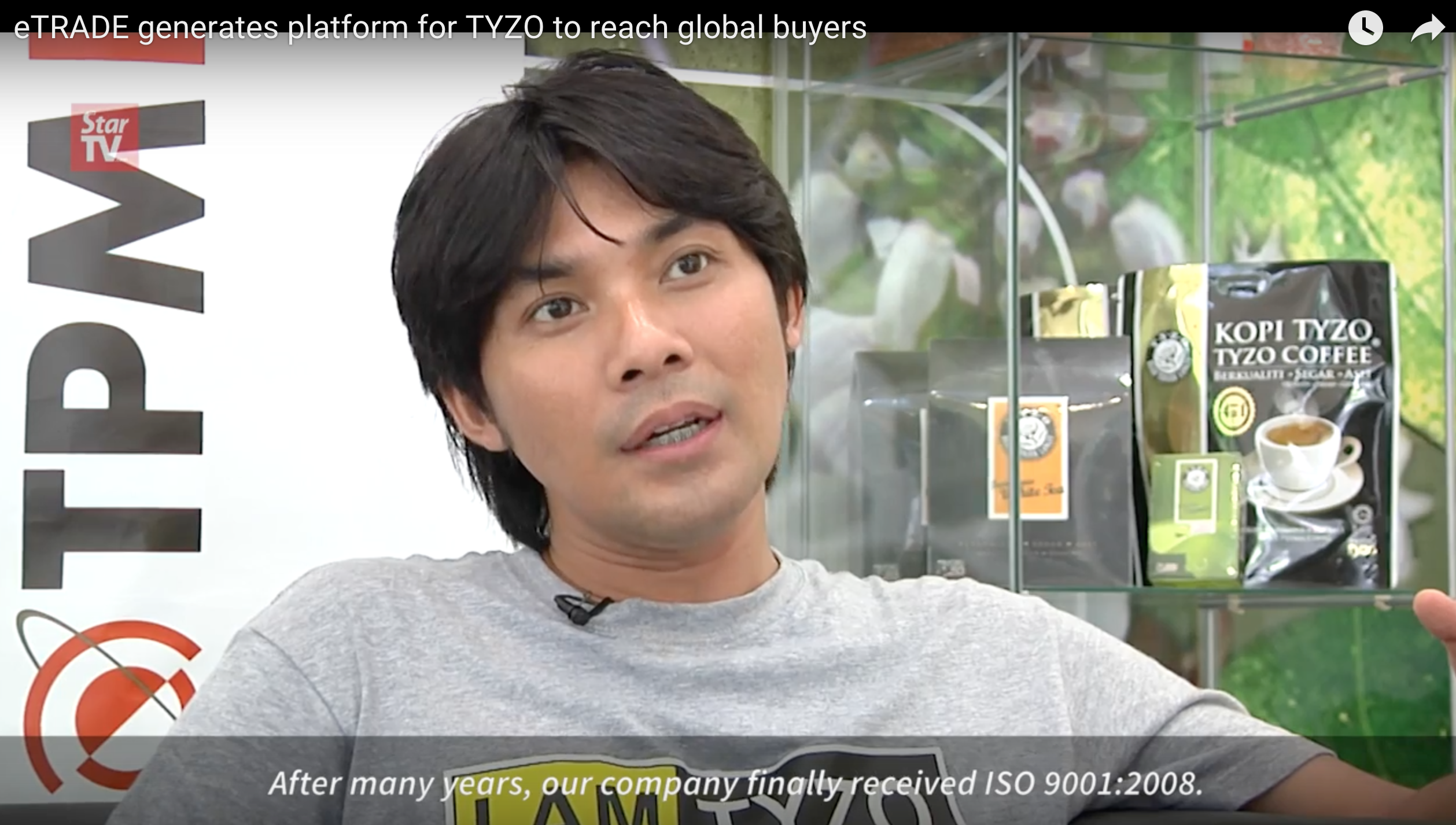eTRADE generates platform for Tyzo to reach global buyers